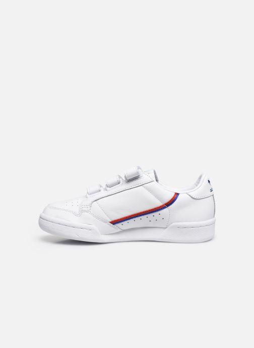 Sneaker adidas originals Continental 80 W Strap weiß ansicht von vorne