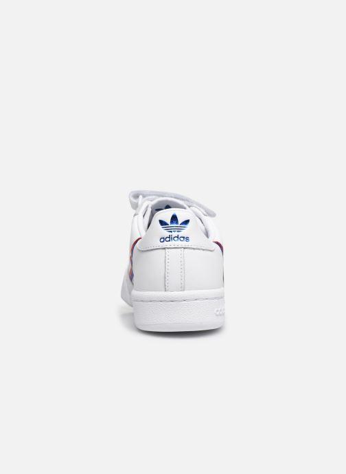 Baskets adidas originals Continental 80 W Strap Blanc vue droite