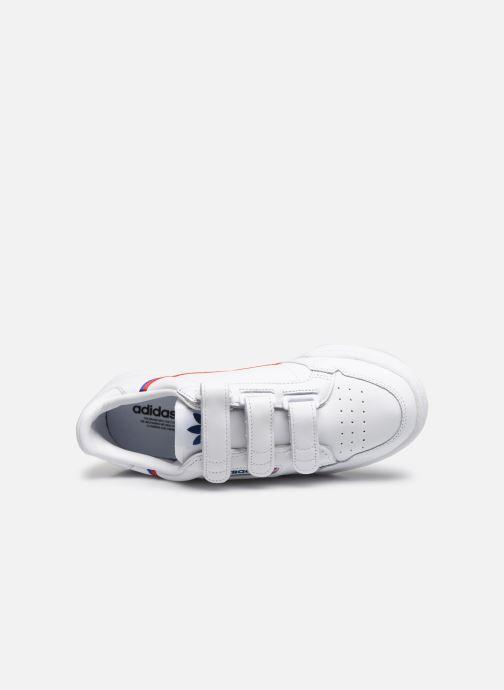 Baskets adidas originals Continental 80 W Strap Blanc vue gauche