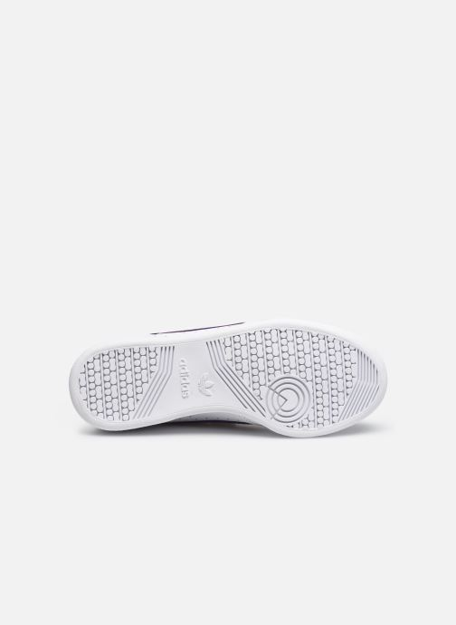 Baskets adidas originals Continental 80 W Strap Blanc vue haut