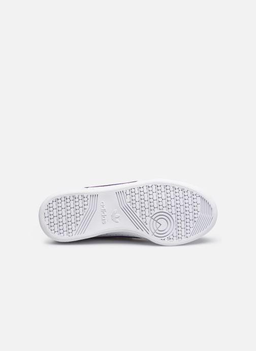 Sneaker adidas originals Continental 80 W Strap weiß ansicht von oben