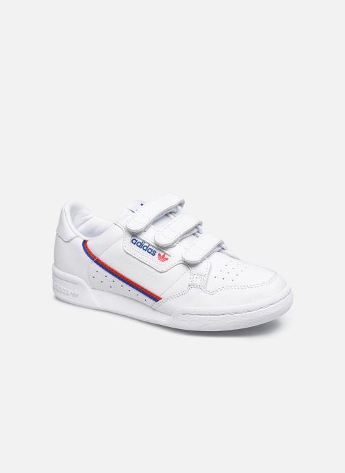 Baskets adidas originals Continental 80 W Strap Blanc vue détail/paire
