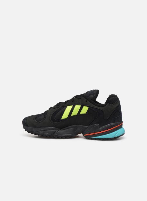 Sneakers adidas originals Yung-1 Trail Zwart voorkant