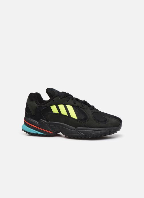 Sneakers adidas originals Yung-1 Trail Zwart achterkant