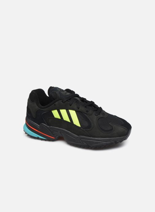 Deportivas adidas originals Yung-1 Trail Negro vista de detalle / par