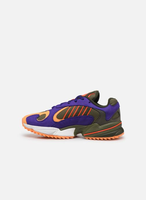 Baskets adidas originals Yung-1 Trail Multicolore vue face