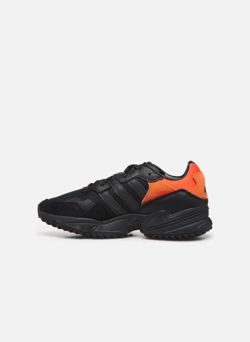 Sneaker adidas originals Yung-96 Trail schwarz ansicht von vorne