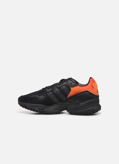 Sneakers adidas originals Yung-96 Trail Nero immagine frontale