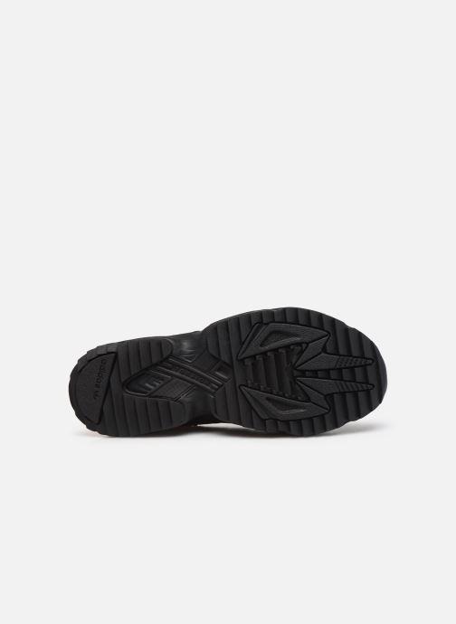 Sneaker adidas originals Yung-96 Trail schwarz ansicht von oben