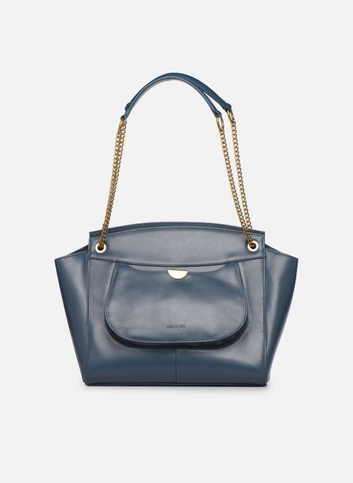 Handtaschen Nat & Nin Claudie blau ansicht von links