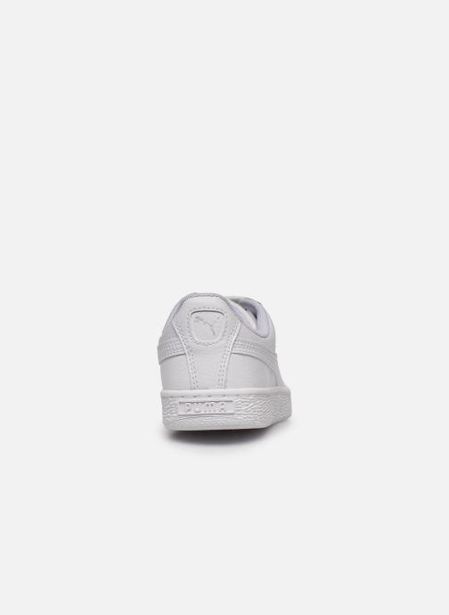 Sneakers Puma Basket Classic LFS E Wit rechts