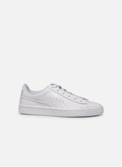 Trainers Puma Basket Classic LFS E White back view