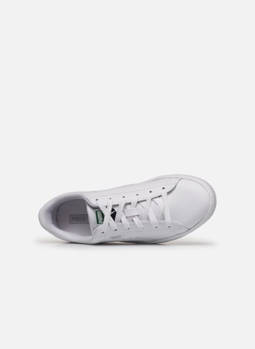 Trainers Puma Basket Classic LFS E White view from the left