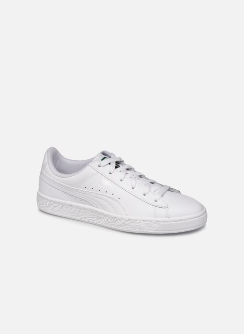 Trainers Puma Basket Classic LFS E White detailed view/ Pair view