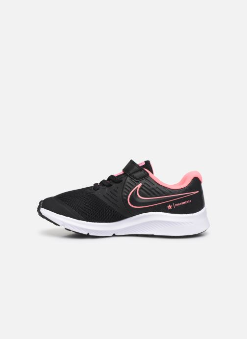 Zapatillas de deporte Nike Nike Star Runner 2 (Psv) Negro vista de frente