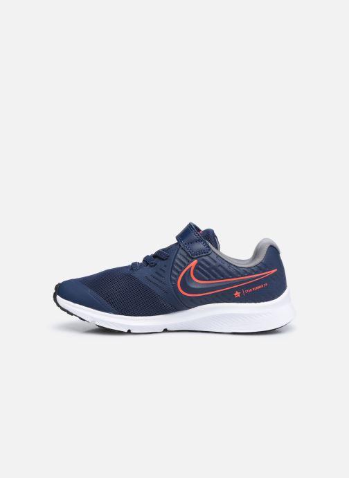 Chaussures de sport Nike Nike Star Runner 2 (Psv) Bleu vue face