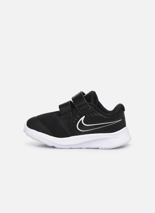 Sportschuhe Nike Nike Star Runner 2 (Tdv) schwarz ansicht von vorne
