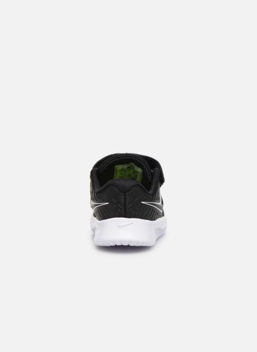 Sportschuhe Nike Nike Star Runner 2 (Tdv) schwarz ansicht von rechts