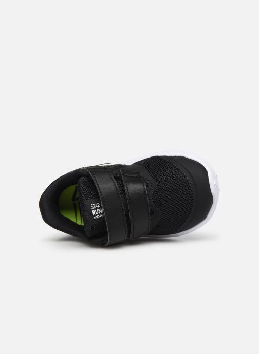 Sportschuhe Nike Nike Star Runner 2 (Tdv) schwarz ansicht von links
