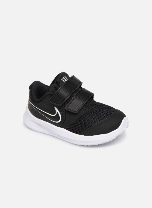 Sportschuhe Nike Nike Star Runner 2 (Tdv) schwarz detaillierte ansicht/modell