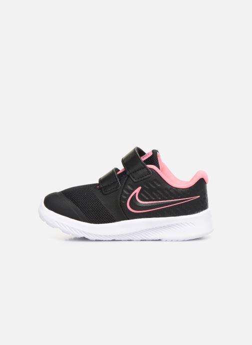 Sport shoes Nike Nike Star Runner 2 (Tdv) Black front view