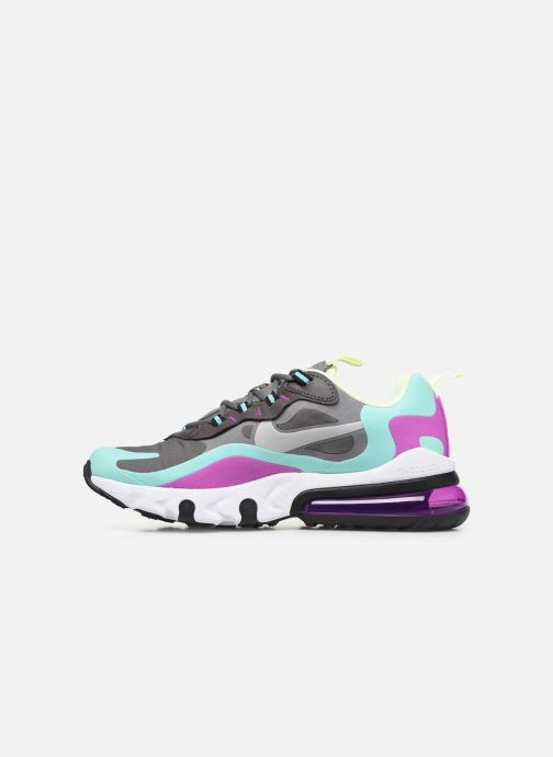 Sneakers Nike Nike Air Max 270 React (Gs) Multicolore immagine frontale