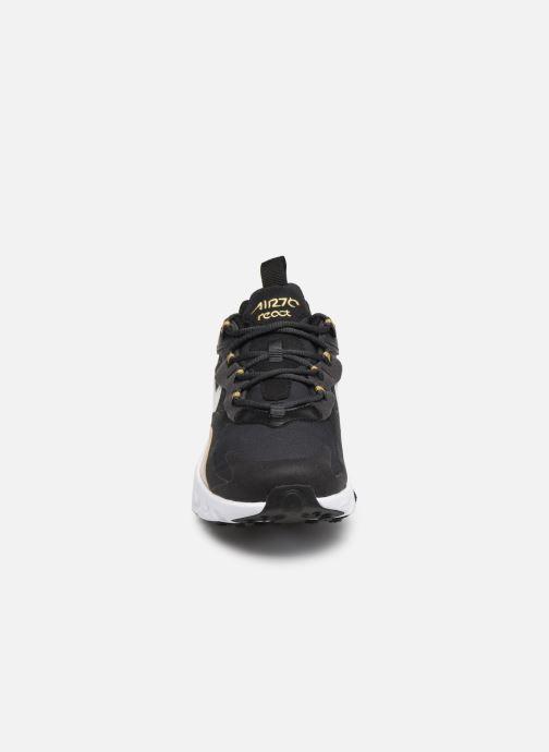 Trainers Nike Nike Air Max 270 React (Gs) Black model view