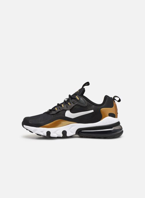 Trainers Nike Nike Air Max 270 React (Gs) Black front view