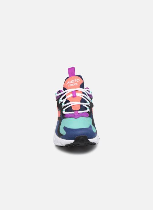 Baskets Nike Nike Air Max 270 React (Gs) Bleu vue portées chaussures