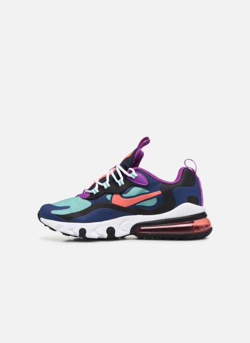 Sneakers Nike Nike Air Max 270 React (Gs) Azzurro immagine frontale
