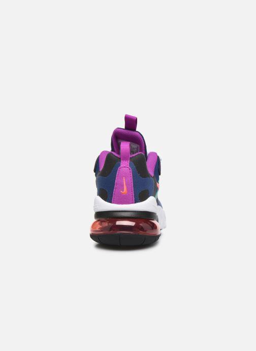 Deportivas Nike Nike Air Max 270 React (Gs) Azul vista lateral derecha