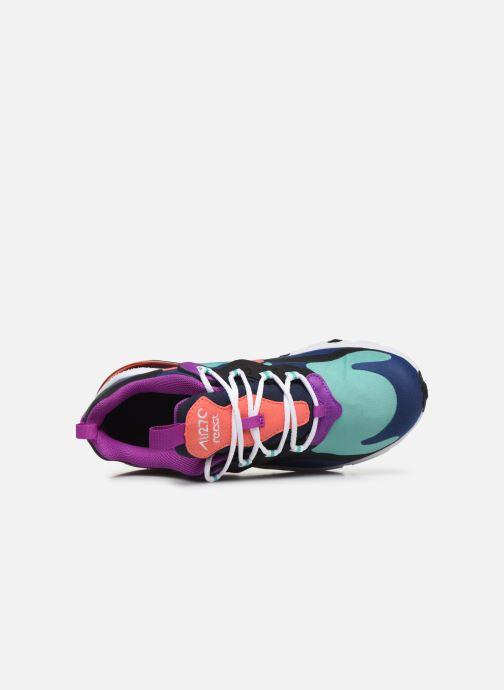 Deportivas Nike Nike Air Max 270 React (Gs) Azul vista lateral izquierda