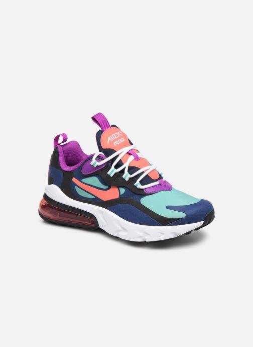 Sneaker Nike Nike Air Max 270 React (Gs) blau detaillierte ansicht/modell