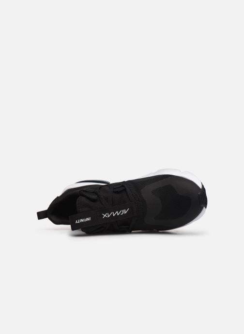 Sneaker Nike Nike Air Max Infinity (Gs) schwarz ansicht von links