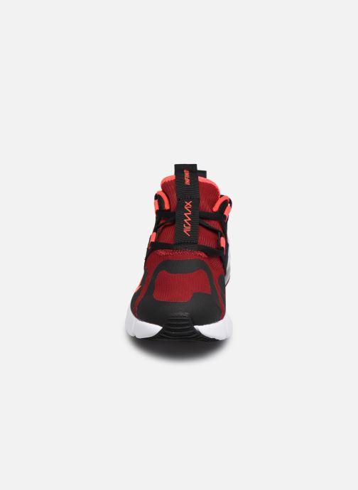 Sneaker Nike Nike Air Max Infinity (Gs) rot schuhe getragen
