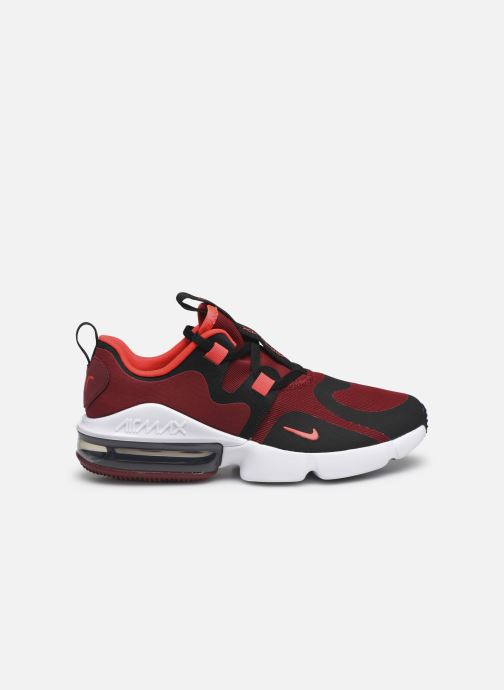 Sneaker Nike Nike Air Max Infinity (Gs) rot ansicht von hinten