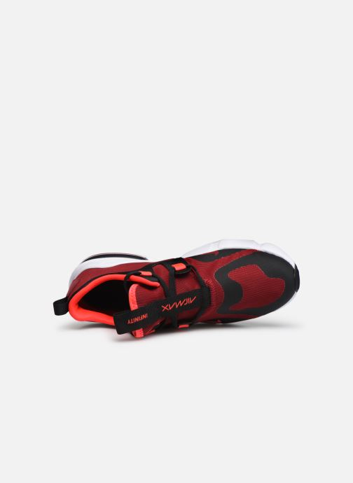Sneaker Nike Nike Air Max Infinity (Gs) rot ansicht von links