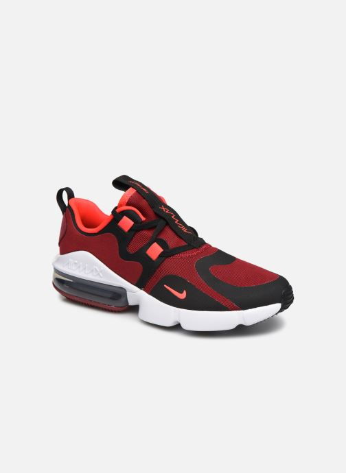 Baskets Nike Nike Air Max Infinity (Gs) Rouge vue détail/paire