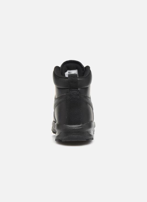 Boots en enkellaarsjes Nike Nike Manoa Ltr (Gs) Zwart rechts