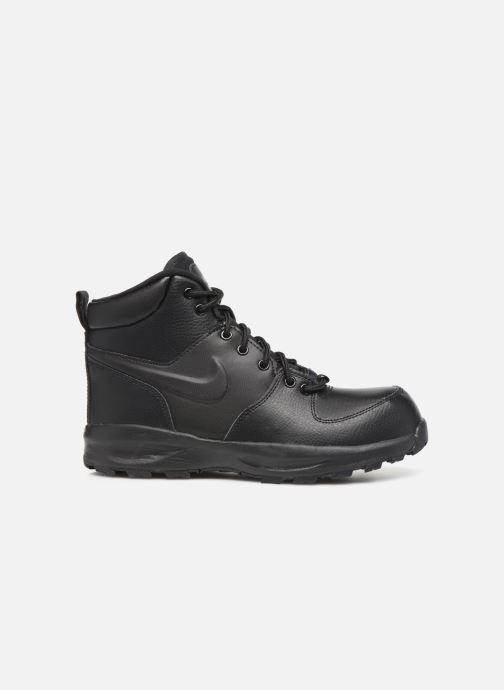Stiefeletten & Boots Nike Nike Manoa Ltr (Gs) schwarz ansicht von hinten