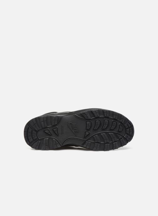 Stivaletti e tronchetti Nike Nike Manoa Ltr (Gs) Nero immagine dall'alto