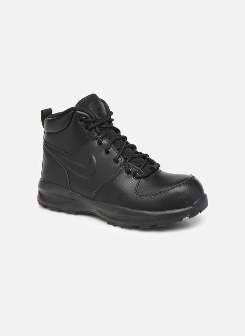 Boots en enkellaarsjes Nike Nike Manoa Ltr (Gs) Zwart detail