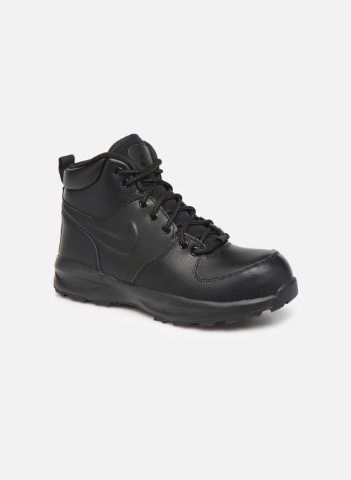 Botines  Nike Nike Manoa Ltr (Gs) Negro vista de detalle / par