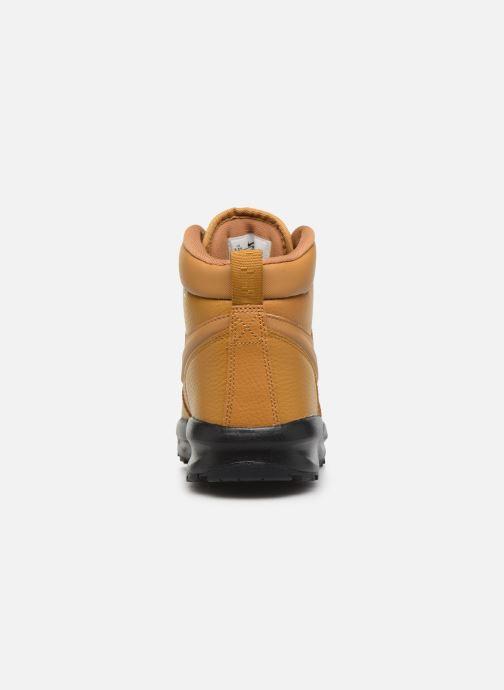 Boots en enkellaarsjes Nike Nike Manoa Ltr (Gs) Bruin rechts