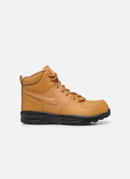 Stivaletti e tronchetti Nike Nike Manoa Ltr (Gs) Marrone immagine posteriore