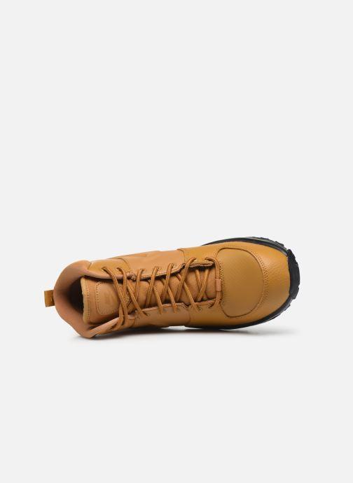 Stivaletti e tronchetti Nike Nike Manoa Ltr (Gs) Marrone immagine sinistra