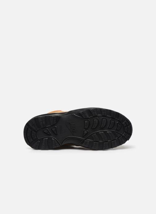 Stivaletti e tronchetti Nike Nike Manoa Ltr (Gs) Marrone immagine dall'alto