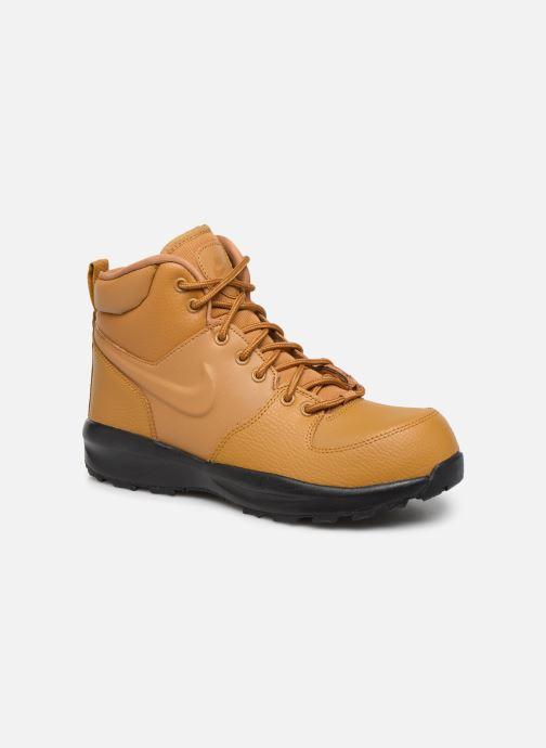 Boots en enkellaarsjes Nike Nike Manoa Ltr (Gs) Bruin detail