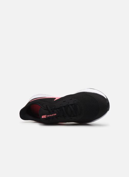 Baskets Nike Nike Revolution 5 (Gs) Noir vue gauche