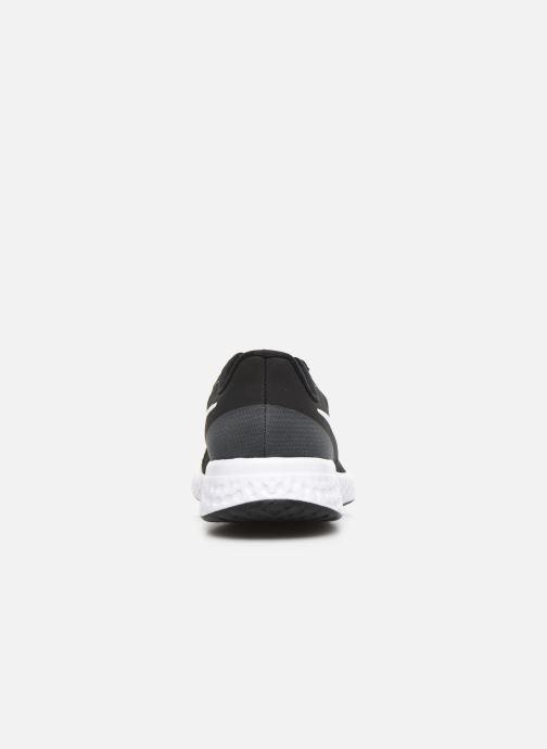 Deportivas Nike Nike Revolution 5 (Gs) Negro vista lateral derecha